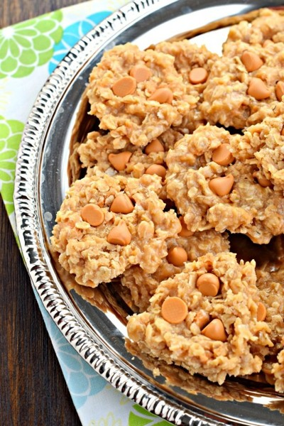 No Bake Oatmeal Scotchies