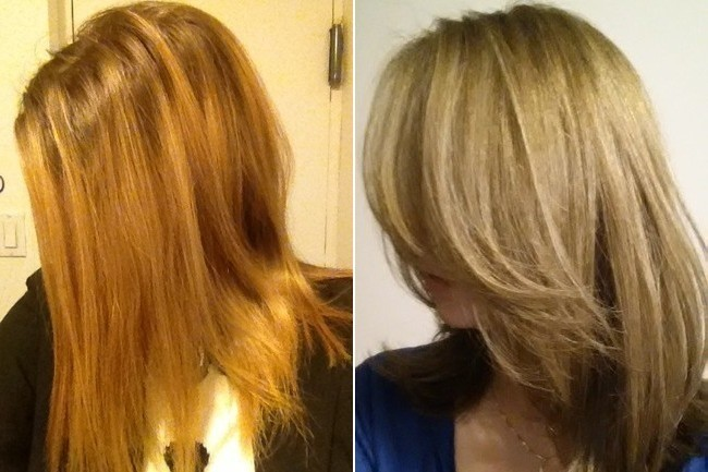 A Lesson On Recovering From Bad Bad Highlights Hair