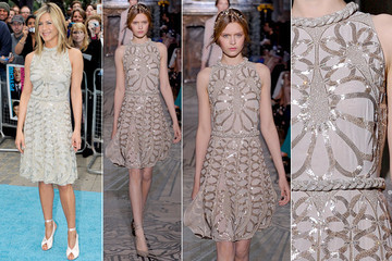 Runway to Reality: Jennifer Aniston in Valentino Couture