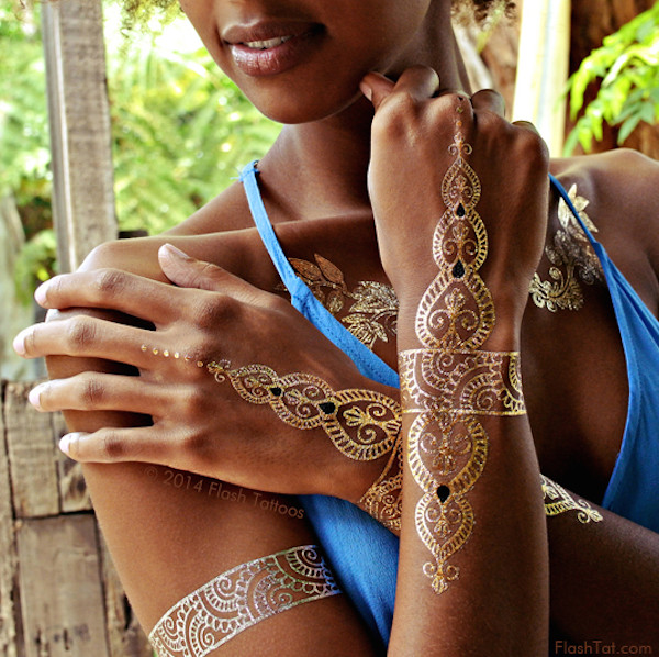Summer Trend to Try: Flash Tats