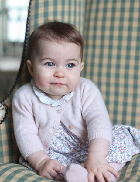 Princess Charlotte's Portrait, 2015