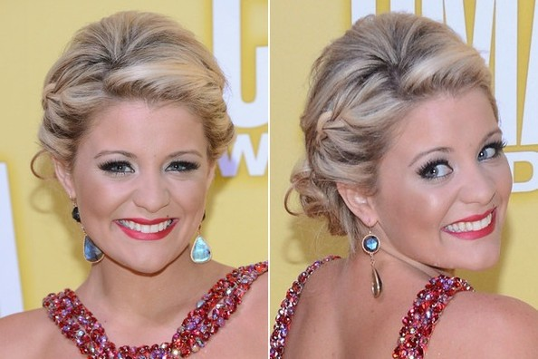 Lauren Alaina's Blended Braid