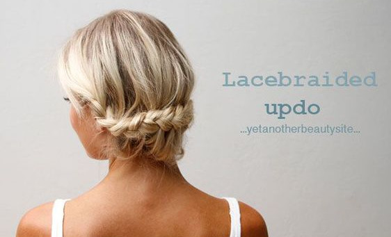 Lace Braided Up-Do