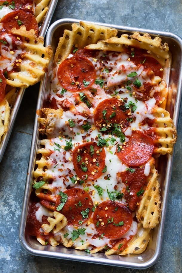Pizza waffle fries all the different ways you can eat Something different to make for dinner