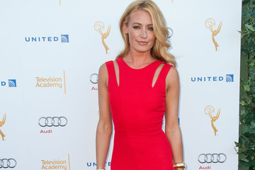 Cat Deely's Stunning Red Gown
