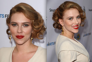 Scarlett Johansson - Wedding Hairstyle Ideas