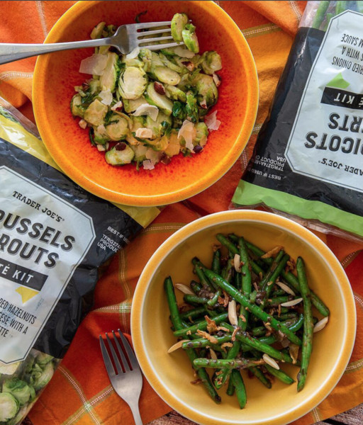 Brussels Sprouts And Haricots Verts Sauté Mixes