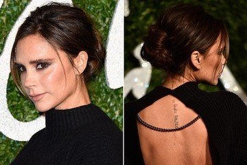 Victoria Beckham's Posh Chignon is the Ultimate 'Do for Second-Day Strands