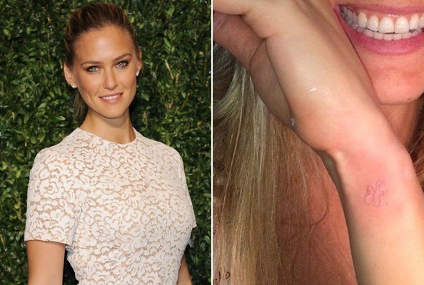 Bar Refaeli's Butterfly