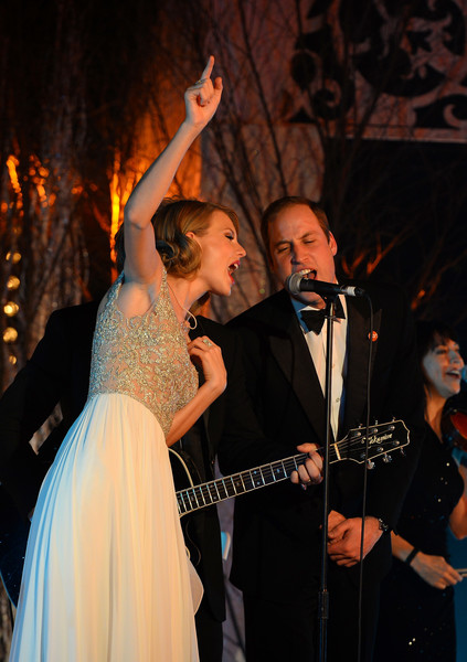 Prince William And Taylor Swift