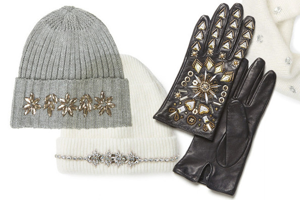Market Watch: Embellished Cold-Weather Accessories