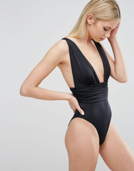High-Leg One-Piece Swimsuits