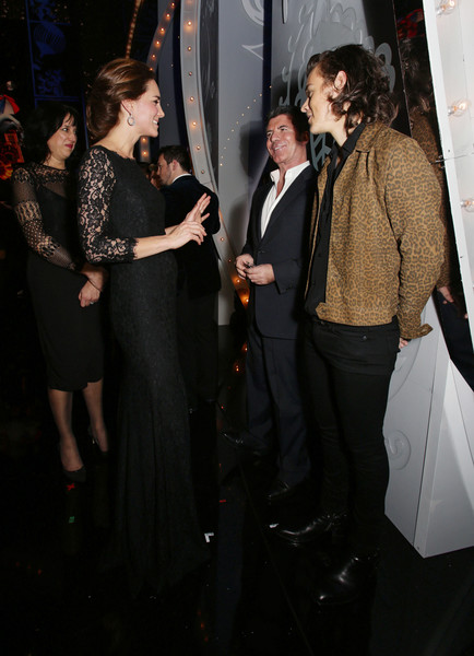 Kate Middleton, Simon Cowell, And Harry Styles
