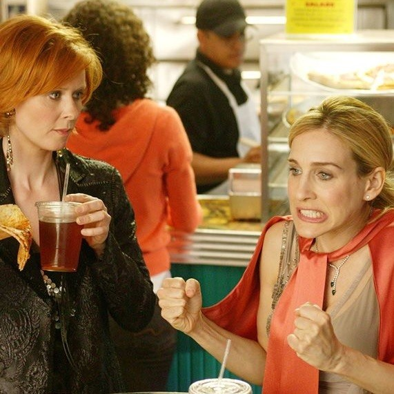 Carrie Bradshaw And Miranda Hobs, Sex & The City