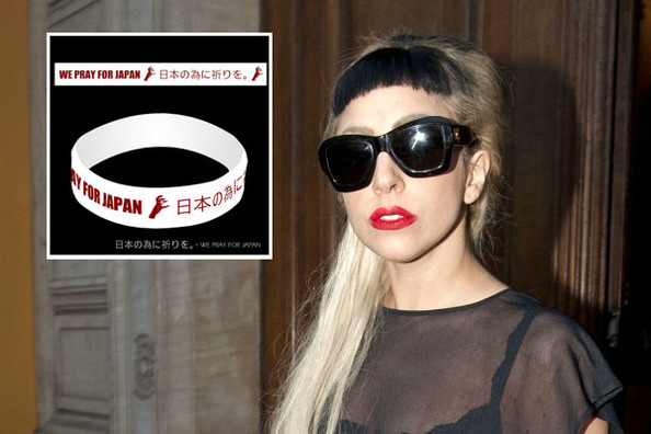 Lady Gaga's 'Pray for Japan' Bracelet Raises $250,000