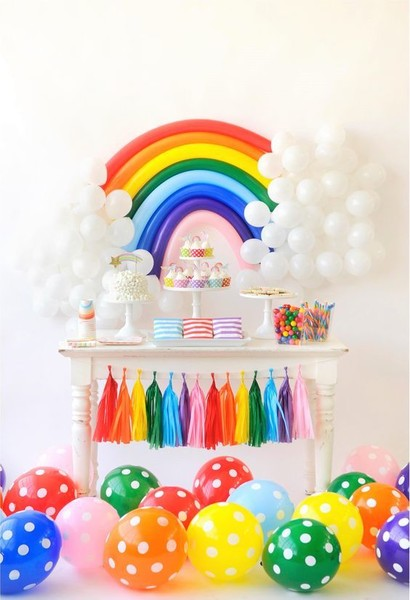 Balloon Rainbow Decor