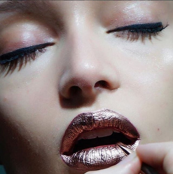 Kiss Out Of Makeup: Out Of This World Metallic Makeup Looks