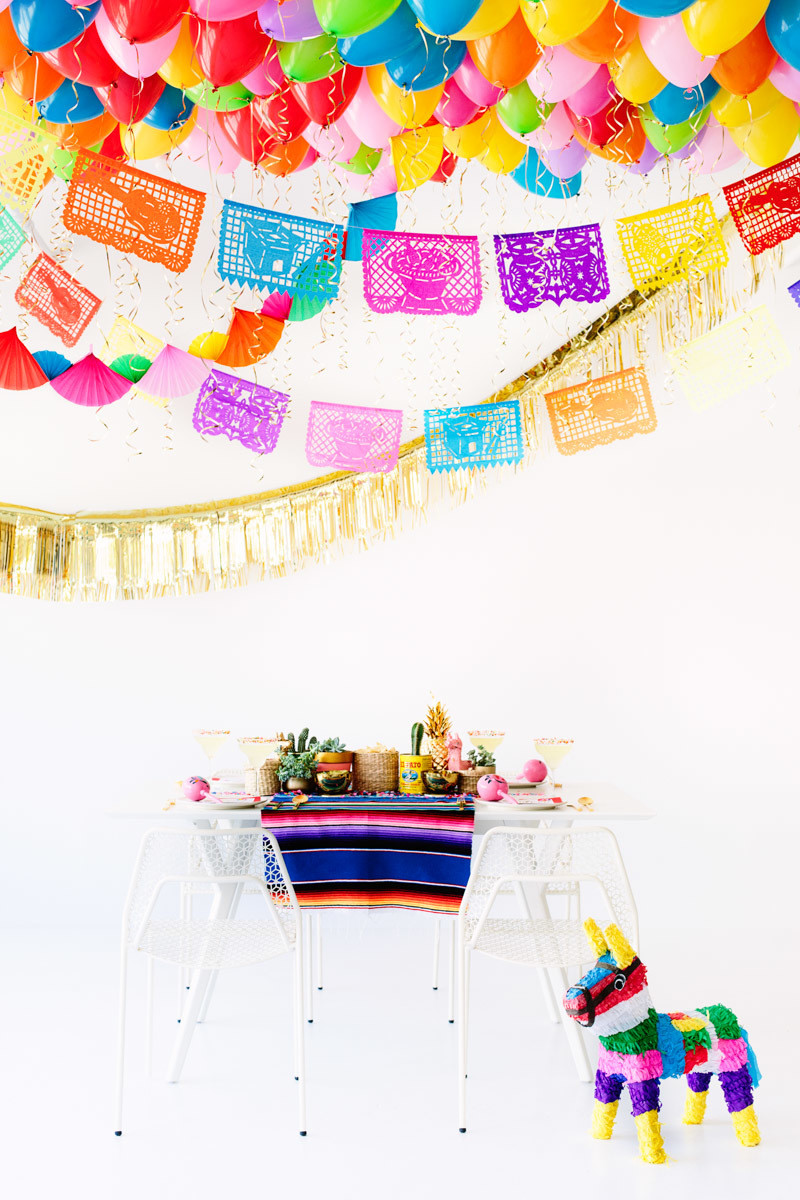 Fun Cinco de Mayo Party Decoration DIYs Things We Love Livingly