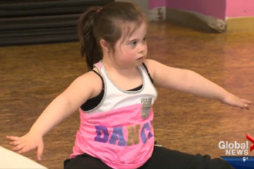 This Video of a Girl with Down Syndrome Rocking a Dance Routine Will Brighten Your Day