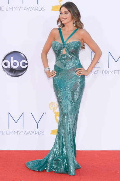 Sofia Vergara 2012 Emmy Awards