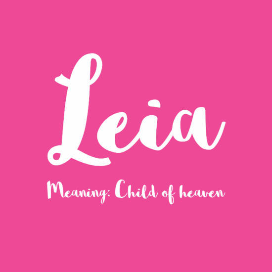 Baby Names With Letter L For Girl
