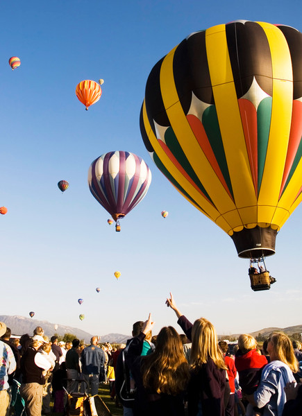 Take a Hot Air Balloon Ride