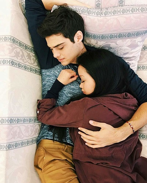 Peter And Lara Jean's Adorable Chemistry
