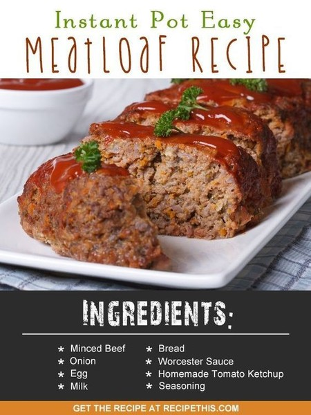 Cook meatloaf in a hurry