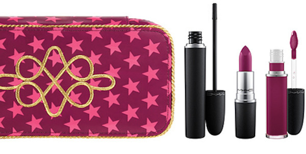 MAC Cosmetics Nutcracker Sweet Plum Retro Makeup Kit