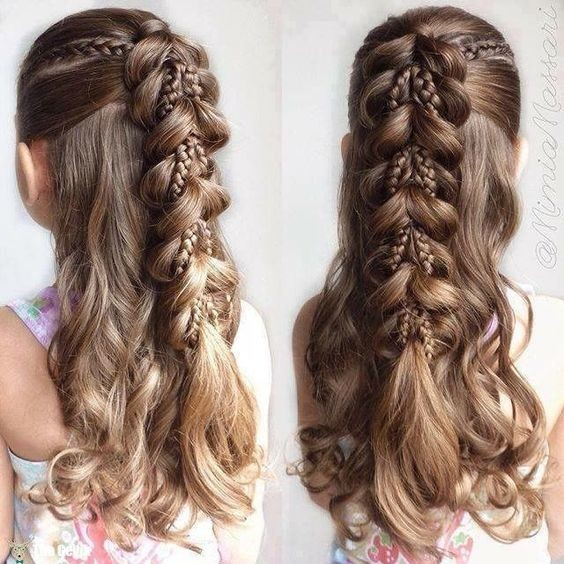 Weave A Braid Into The Flow Cute Back To School Hairstyle Ideas