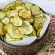 Salt + Vinegar Zucchini Chips