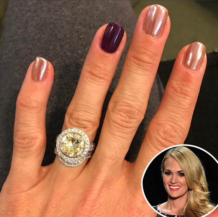 carrie underwood the most stunning celebrity engagement