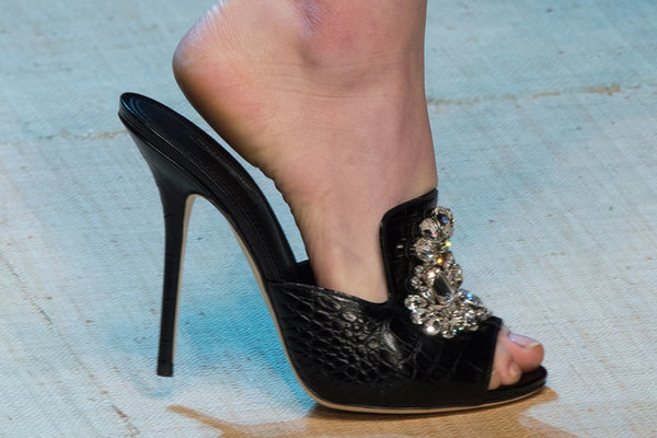 The Prettiest Heels and Flats on the Milan Runway