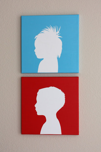 Turn Those Silhouettes Into Art