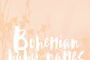 Bohemian Baby Names for Girls