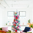 Give Your Christmas Tree Texture With Pom-Poms