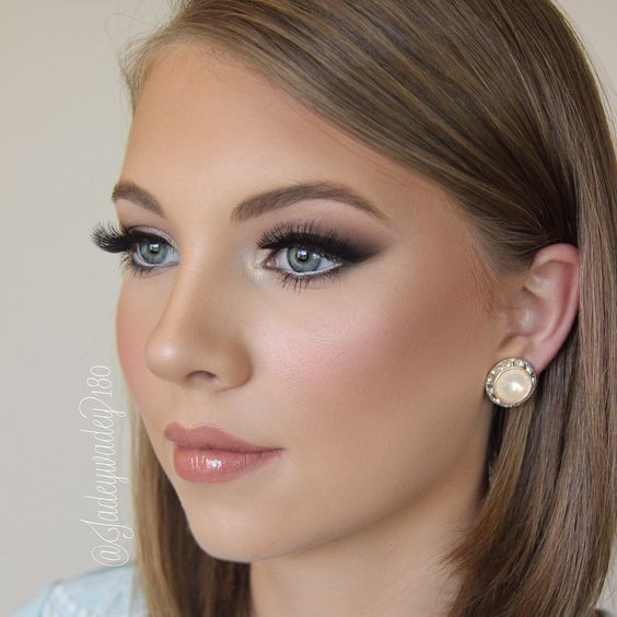 Glamorous Bridal Makeup From Start To Finish : Flawless Dewy Finish - Pinterests Best Bridal Makeup ...