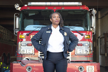 Meet the Firefighter Blazing Trails For Young Women
