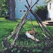 Build A Tee Pee Growing Space