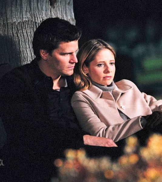 Buffy And Angel — 'Buffy the Vampire Slayer'