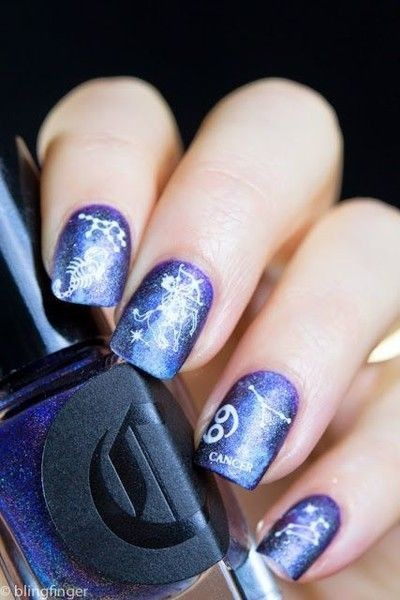 Cancer-Inspired Nails