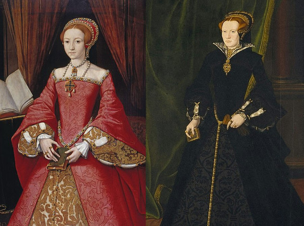 Elizabeth I And Mary Dudley