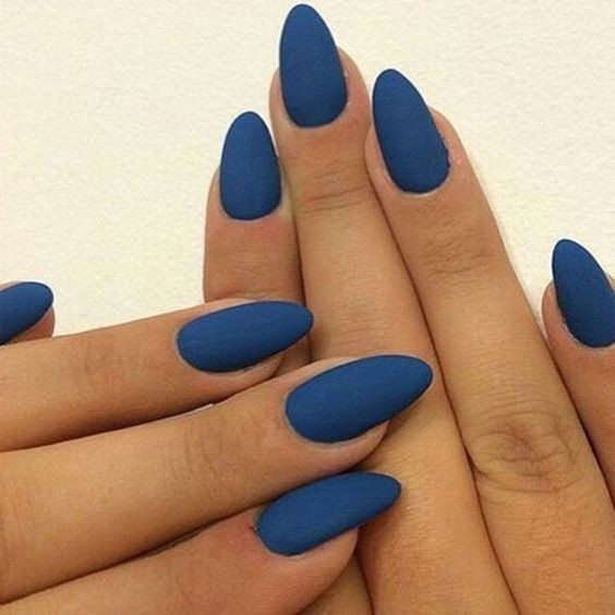 Simple Matte Nails , The Best Fall Nail Ideas on Pinterest