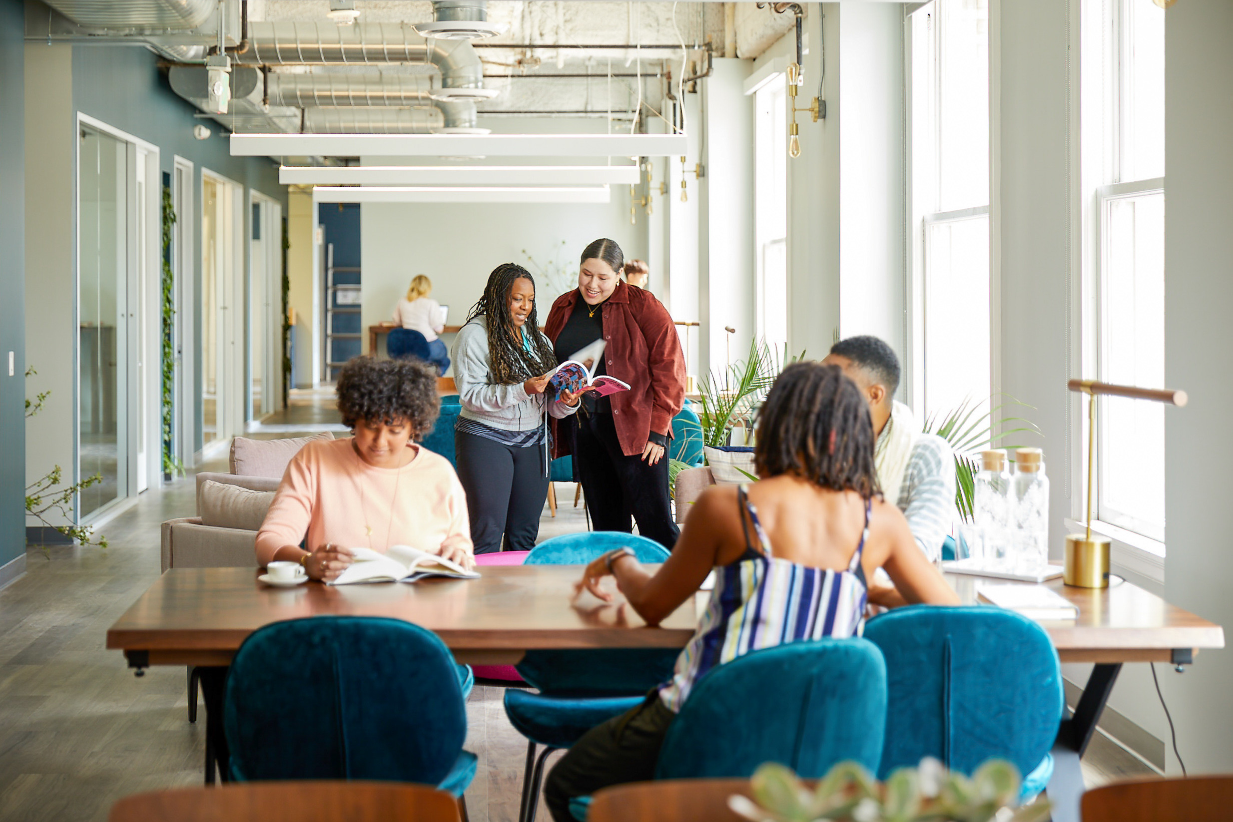This Women's Coworking Space Is Leading With Intention