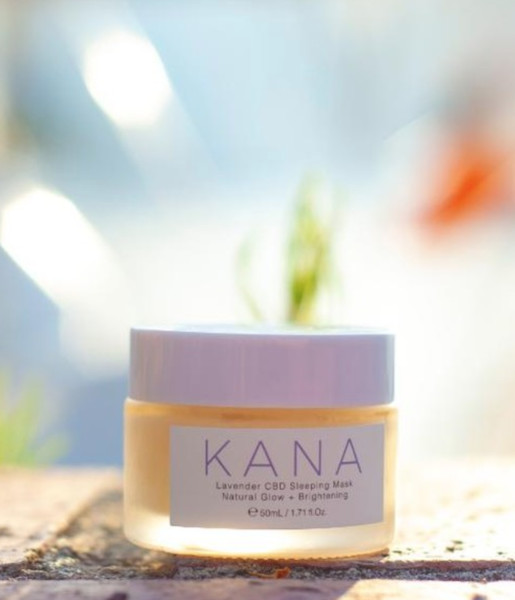 Kana Lavender CBD Sleeping Mask