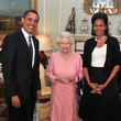 The Queen Hugged Michelle Obama