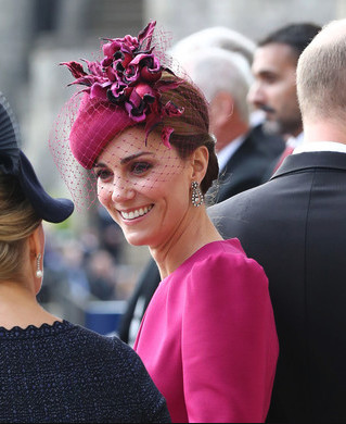 Kate's Veiled Fascinator