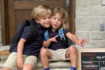 Celebs Share Their Children's Sweet Back-To-School Photos