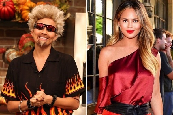 Chrissy Teigen Aka Guy Fieri The Best Celeb Halloween