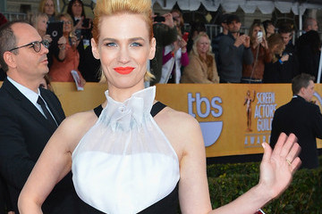 January Jones Ate Her Placenta